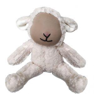 peluche mouton sans yeux