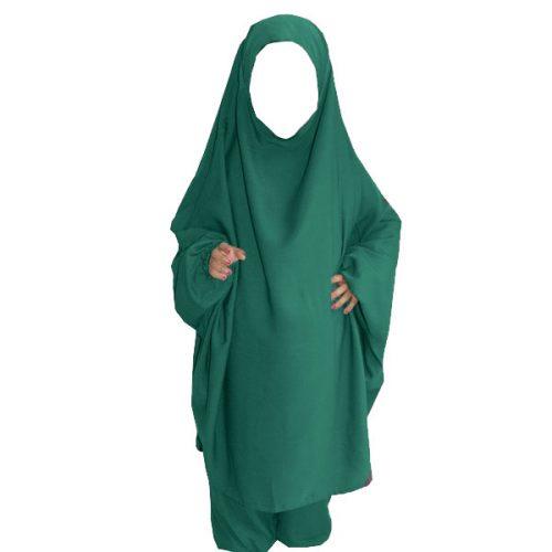 jilbeb fille vert